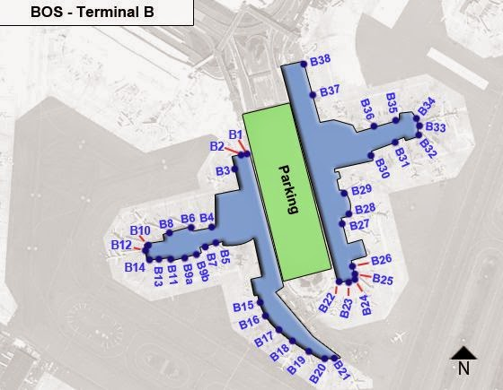 Airline Terminal Mania United S New Terminal B Space At