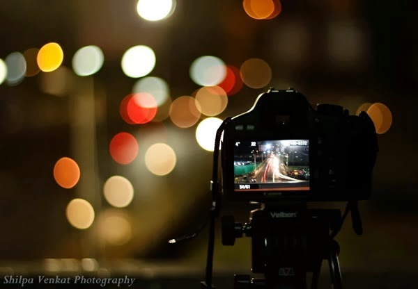 background pemandangan bokeh