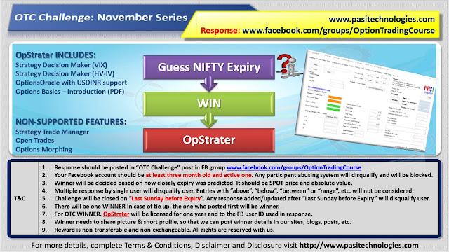 OTC Challenge: November Series, 2017