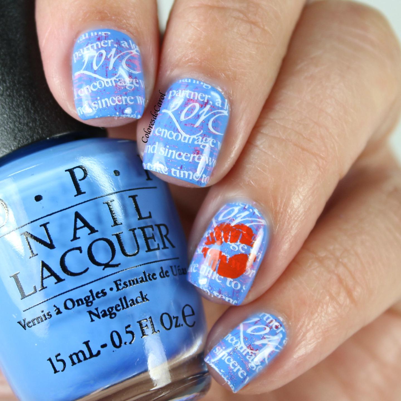 Colores de Carol: Valentine\'s Day manicures.
