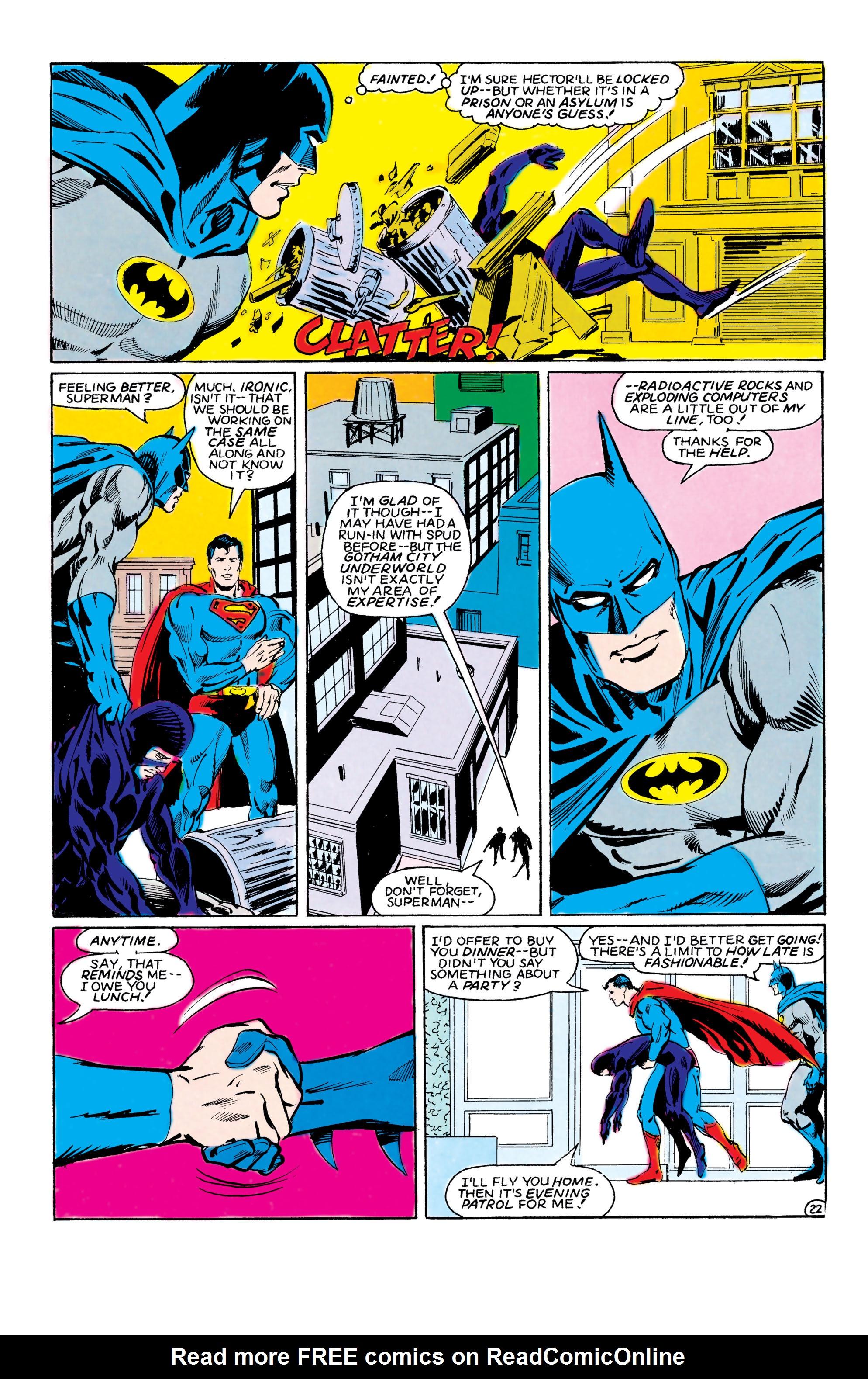 Read online World's Finest Comics comic -  Issue #308 - 23