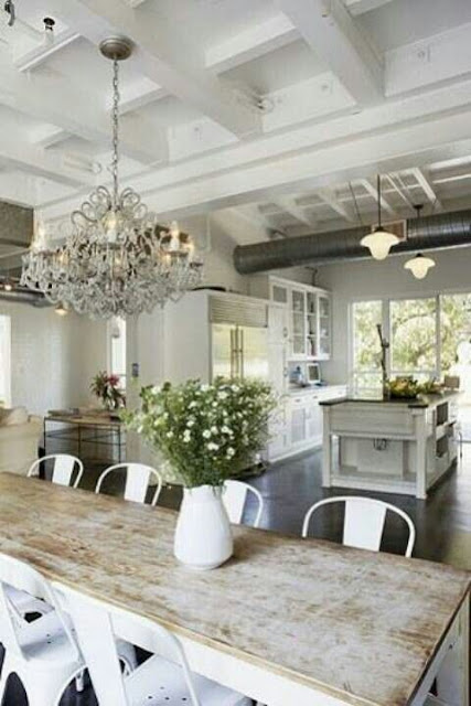 image result for modern industrial farmhouse kitchen amy neunsinger