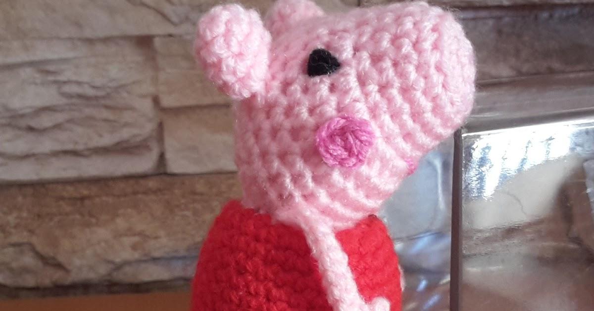 Amigurumi Peppa Pig Mini : ARTESAN?A EL ANGEL DE ABRIL: PATRON AMIGURUMI MINI PEPPA PIG