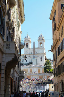 turismo roma praca espanha - Praça de Espanha em Roma: arte e arquitetura Barroca