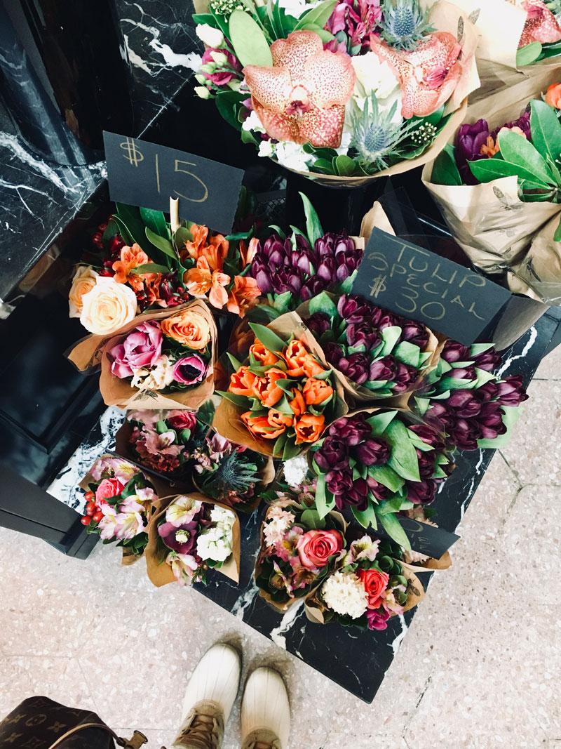 Flowers at Bloom