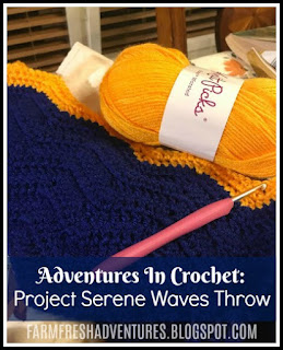 Adventures in Crochet: Project Serene Waves