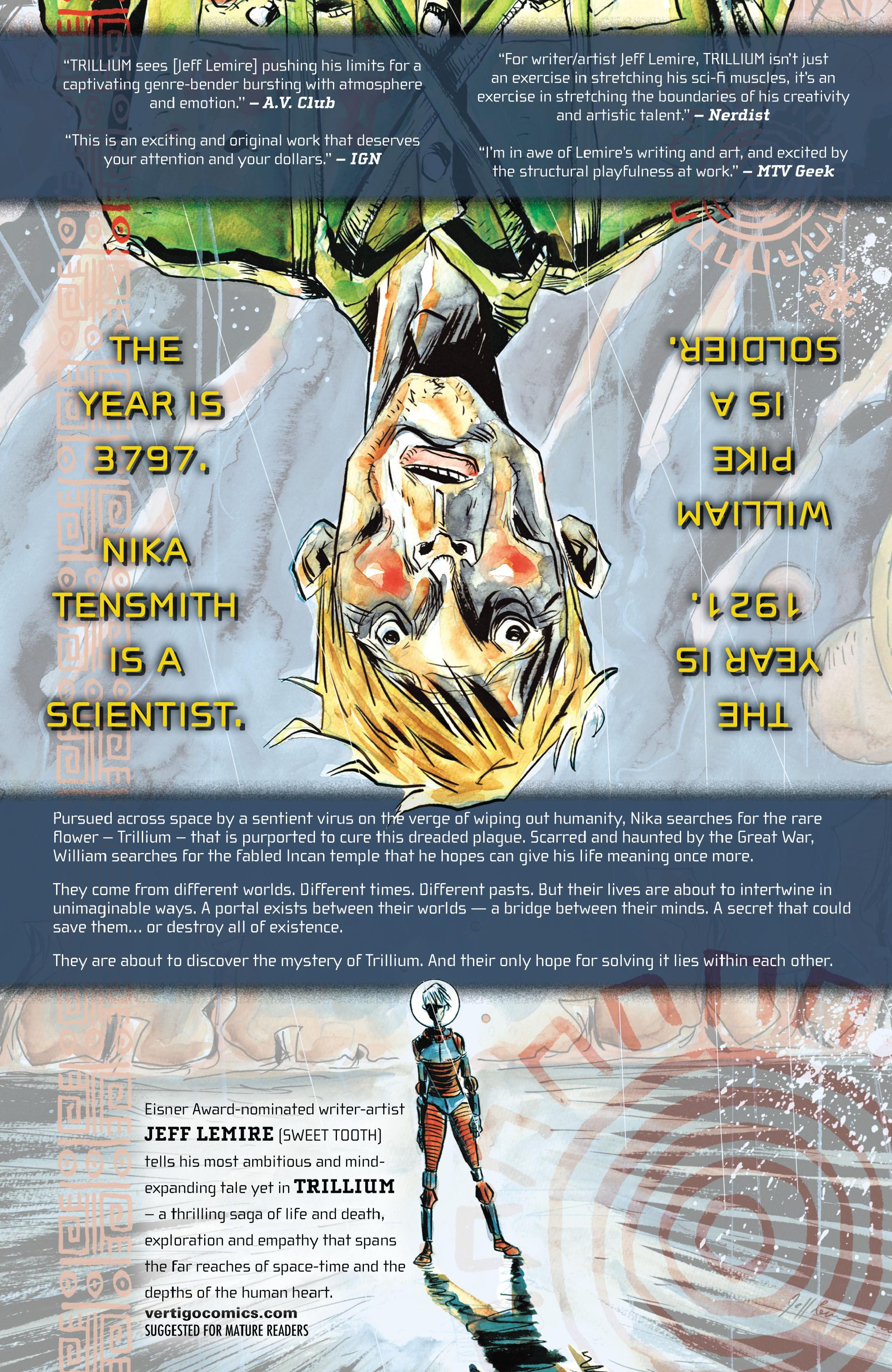 Read online Trillium comic -  Issue # TPB - 208
