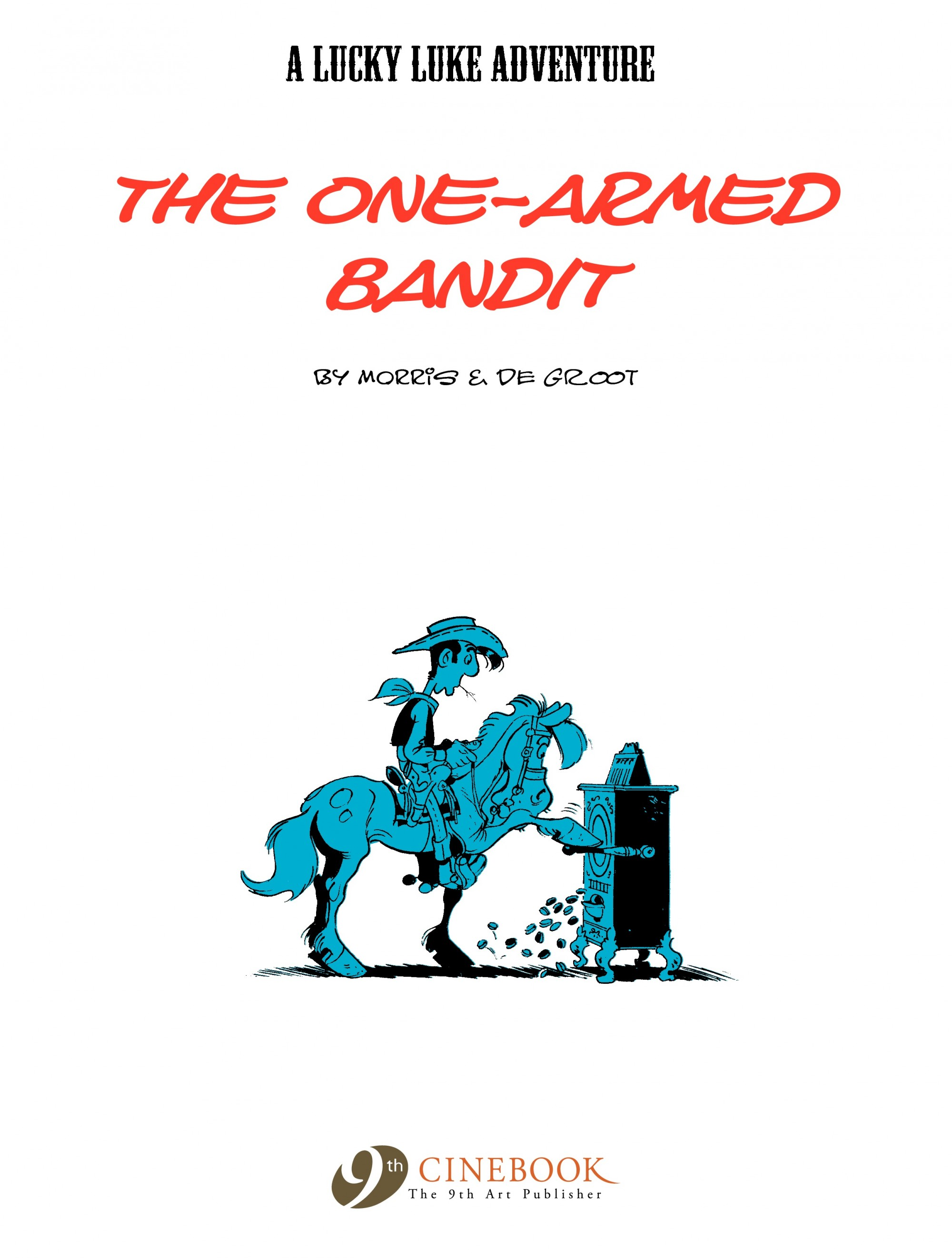 Read online A Lucky Luke Adventure comic -  Issue #33 - 2