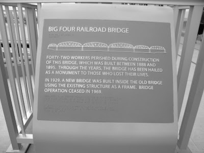 travel, Big Four Railroad Bridge, Ohio River, day trip