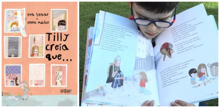 cuentos infantiles tilly creia que para hacer pensar, reflexionar, sentido ética moral niños