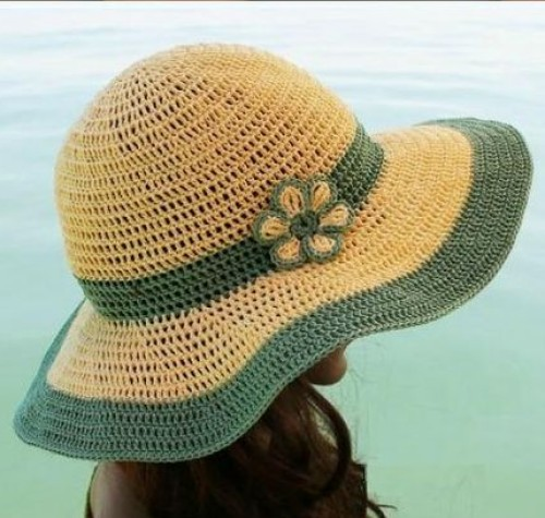 Crochet Summer Hat - Free Pattern