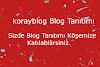 Yaptığım Blog Tanıtımlarına Sizde Katılabilirsiniz.!