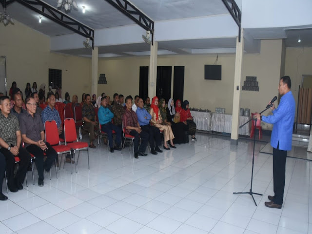 Endro Satoto Silahturahmi dengan Elemen Masyarakat di Halmahera Utara