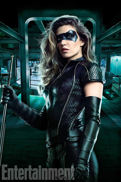 Juliana Harkavy como Dinah Drake / Black Canary en la sexta temporada de ARROW.