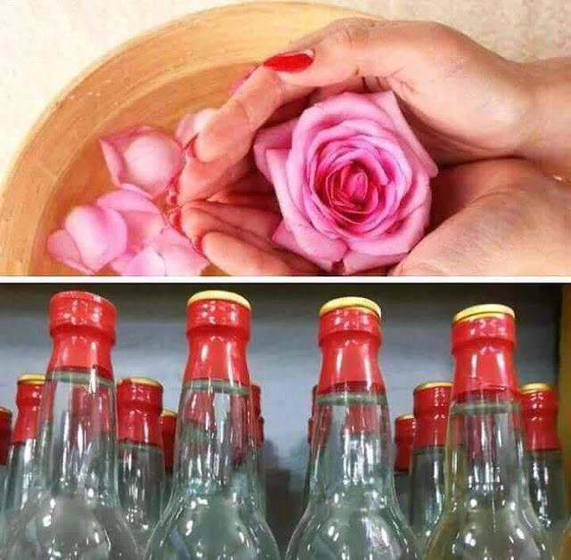 فواىد ماء الورد وإستخداماته