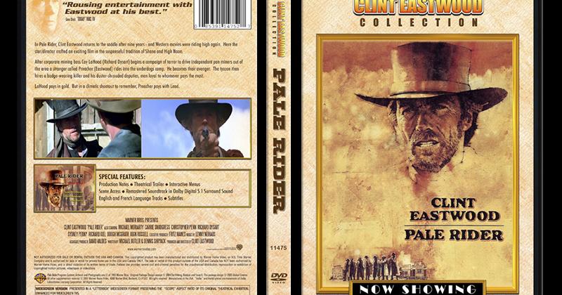 DVD Cover Design: Pale Rider (1985)