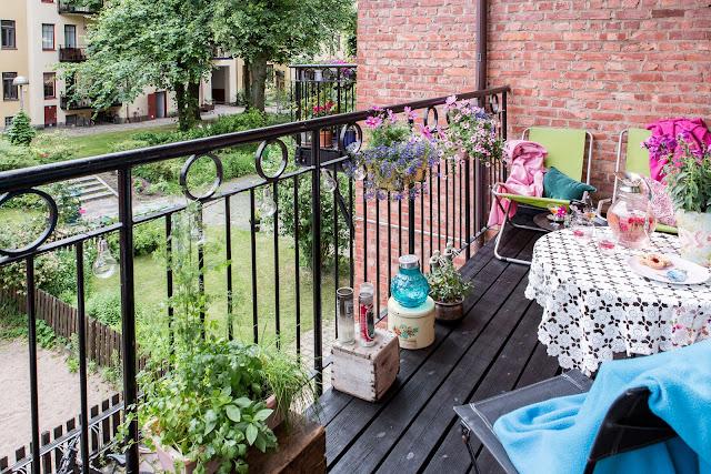idee de amenajare balcon
