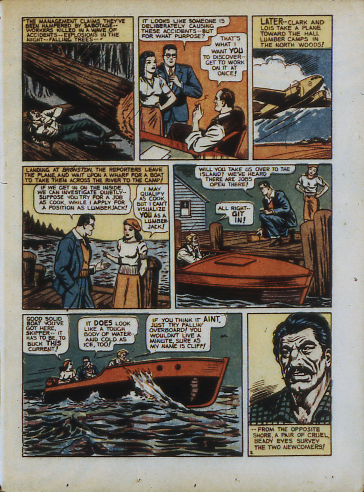 Read online Action Comics (1938) comic -  Issue #33 - 6