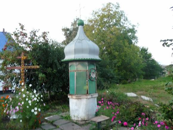 Колодец возле Свято-Ильинского храма. Г. Казатин Винницкой области