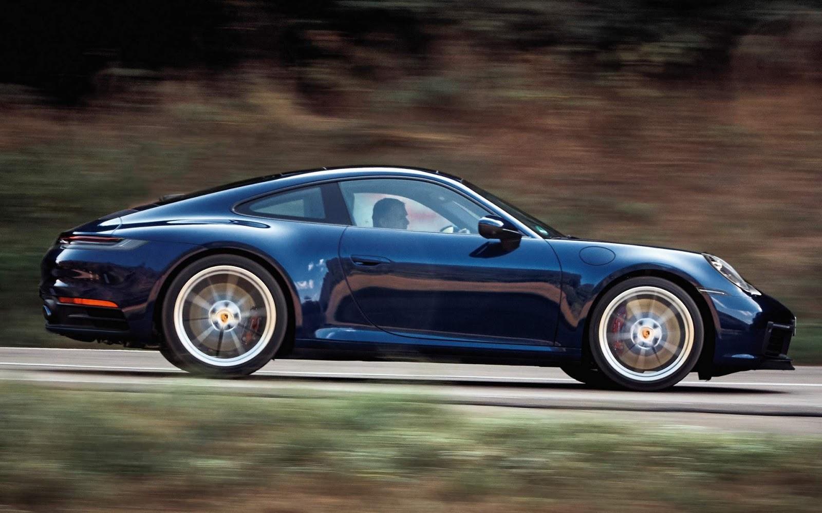 Porsche comunica reall de Taycan, 911 e 718 no Brasil