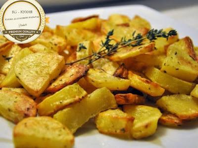 Здравословни картофи на фурна - рецепта