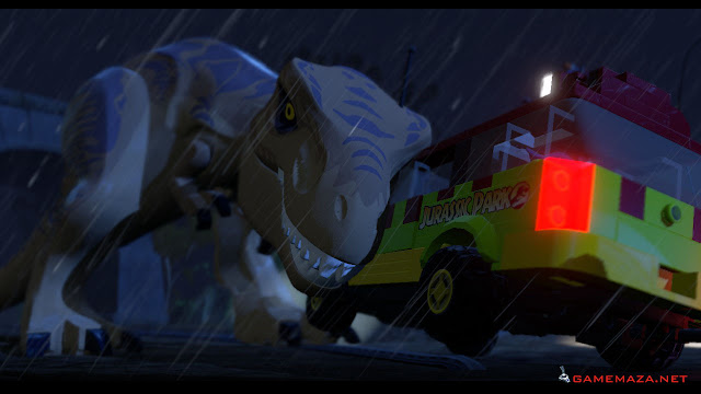 Lego Jurassic World Gameplay Screenshot 3