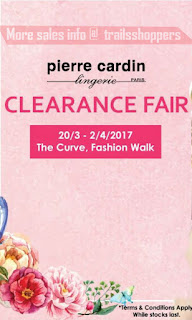 Pierre Cardin Lingerie Clearance Fair 2017