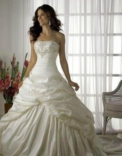 Vestidos de novias tipo princesa | Romanticismo en la boda | Somos ...