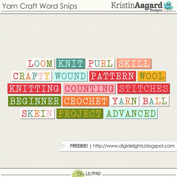 Yarn Craft & Freebie!