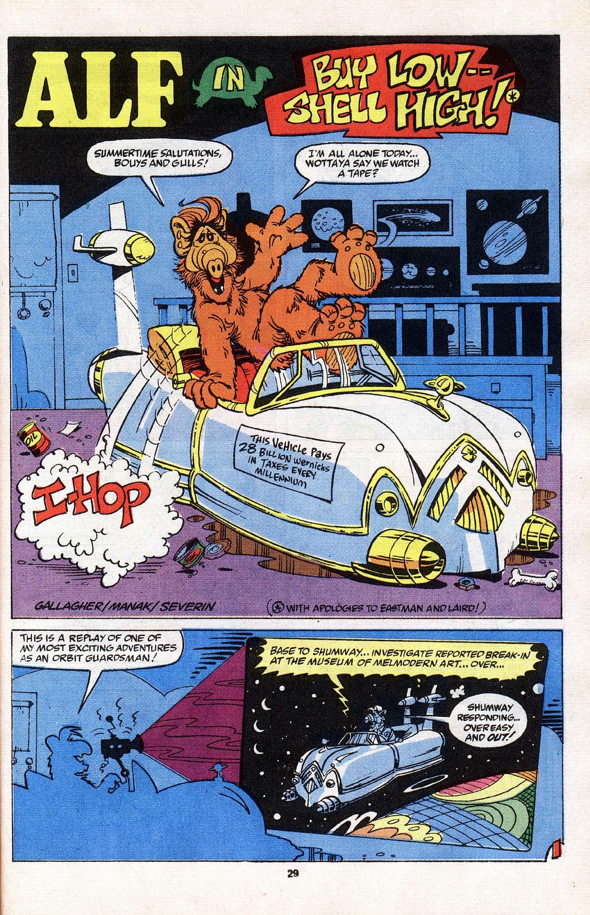 Read online ALF comic -  Issue # _Annual 3 - 26