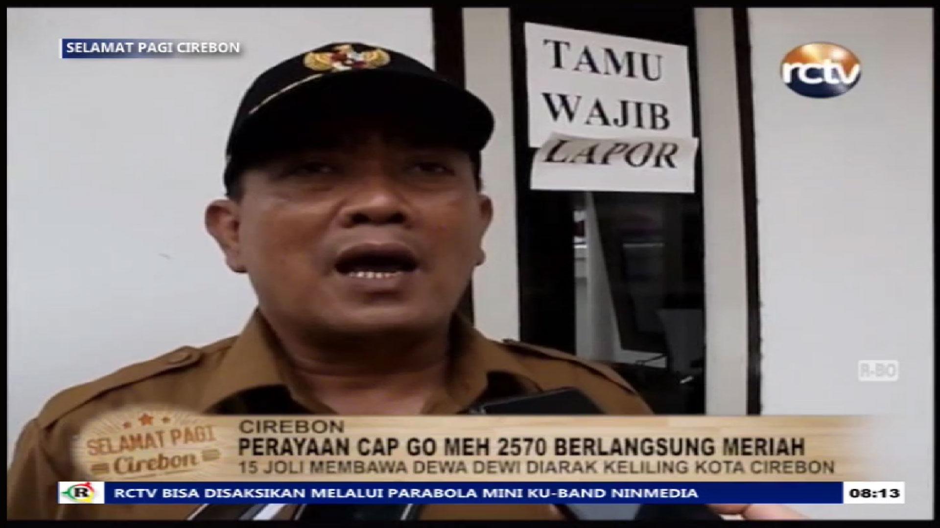 Frekuensi siaran Radar Cirebon TV di satelit ChinaSat 11 Terbaru