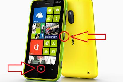 Cara ScreenShot ( SS ) di Windows Phone ( WP ) 8/8.1