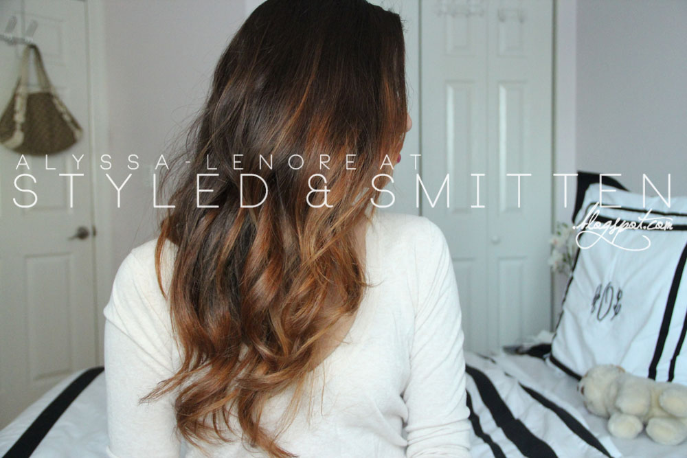 Balayage Hair Hair Care Routine Styled Smitten
