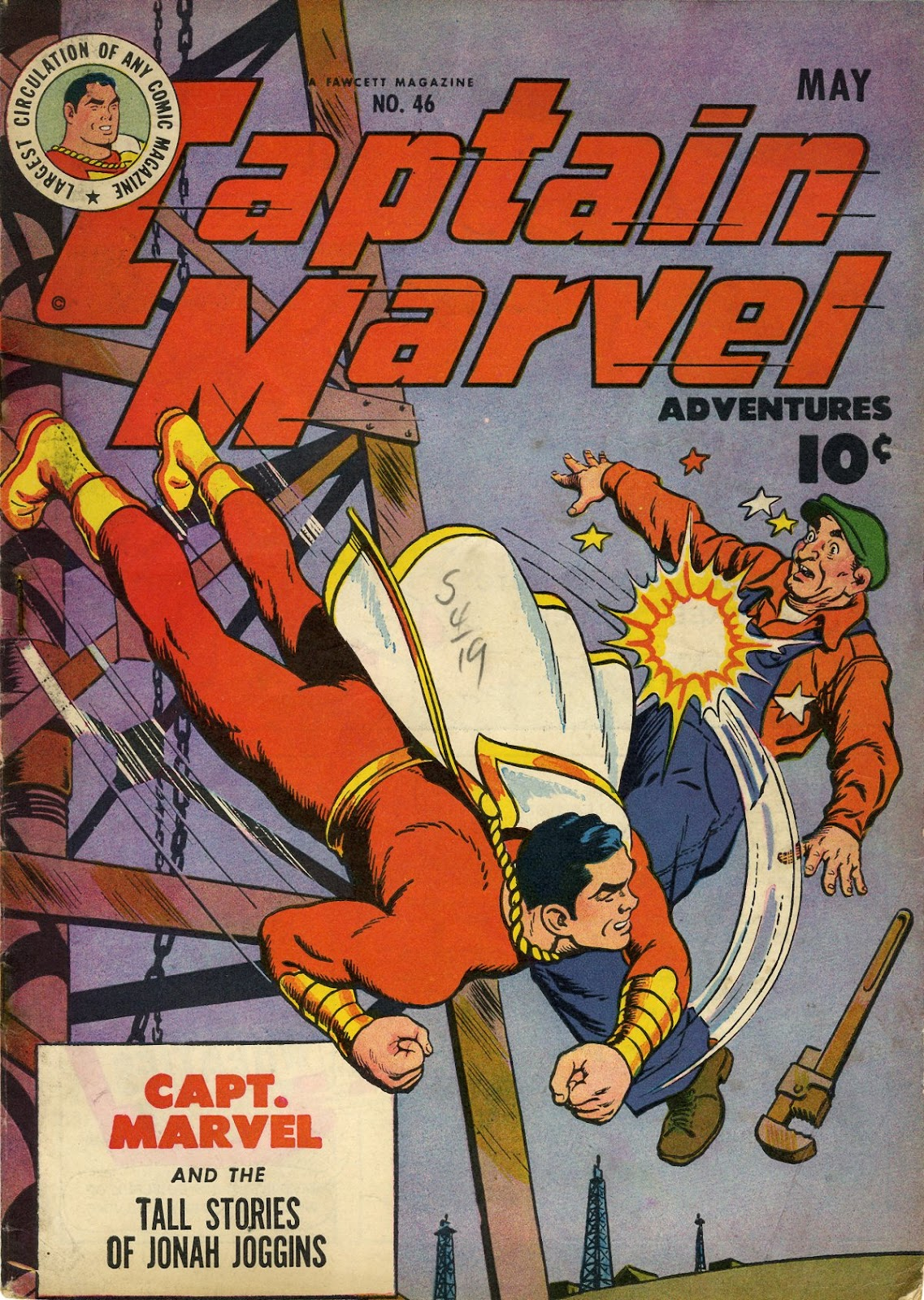 Captain Marvel Adventures 46 Page 1