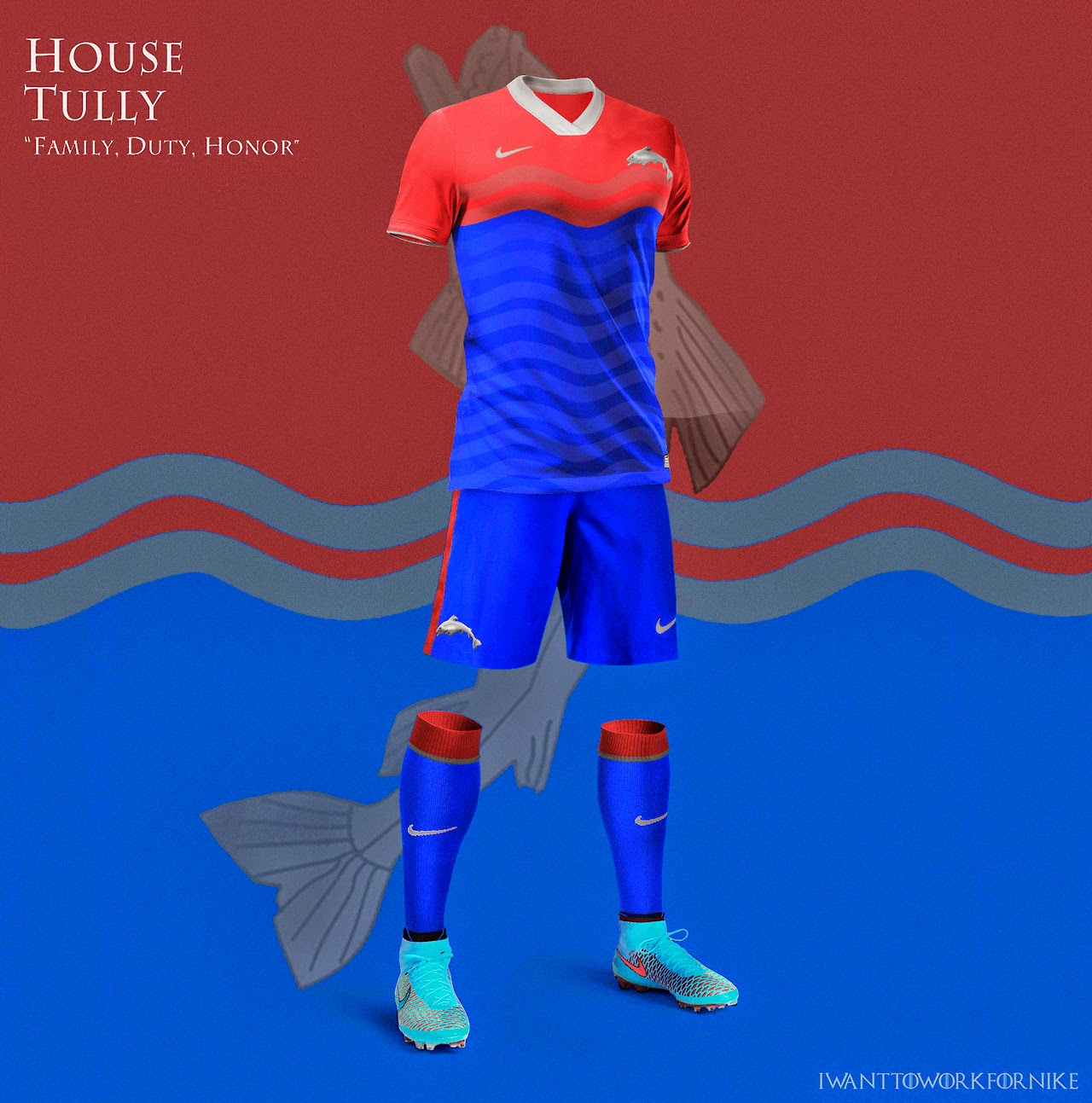 I WANT TO WORK FOR NIKE - Game Of Thrones House Themed World Cup Kits  aaba2c6a8