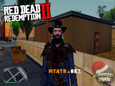 MTA SA Red Dead Redemption 2 skin