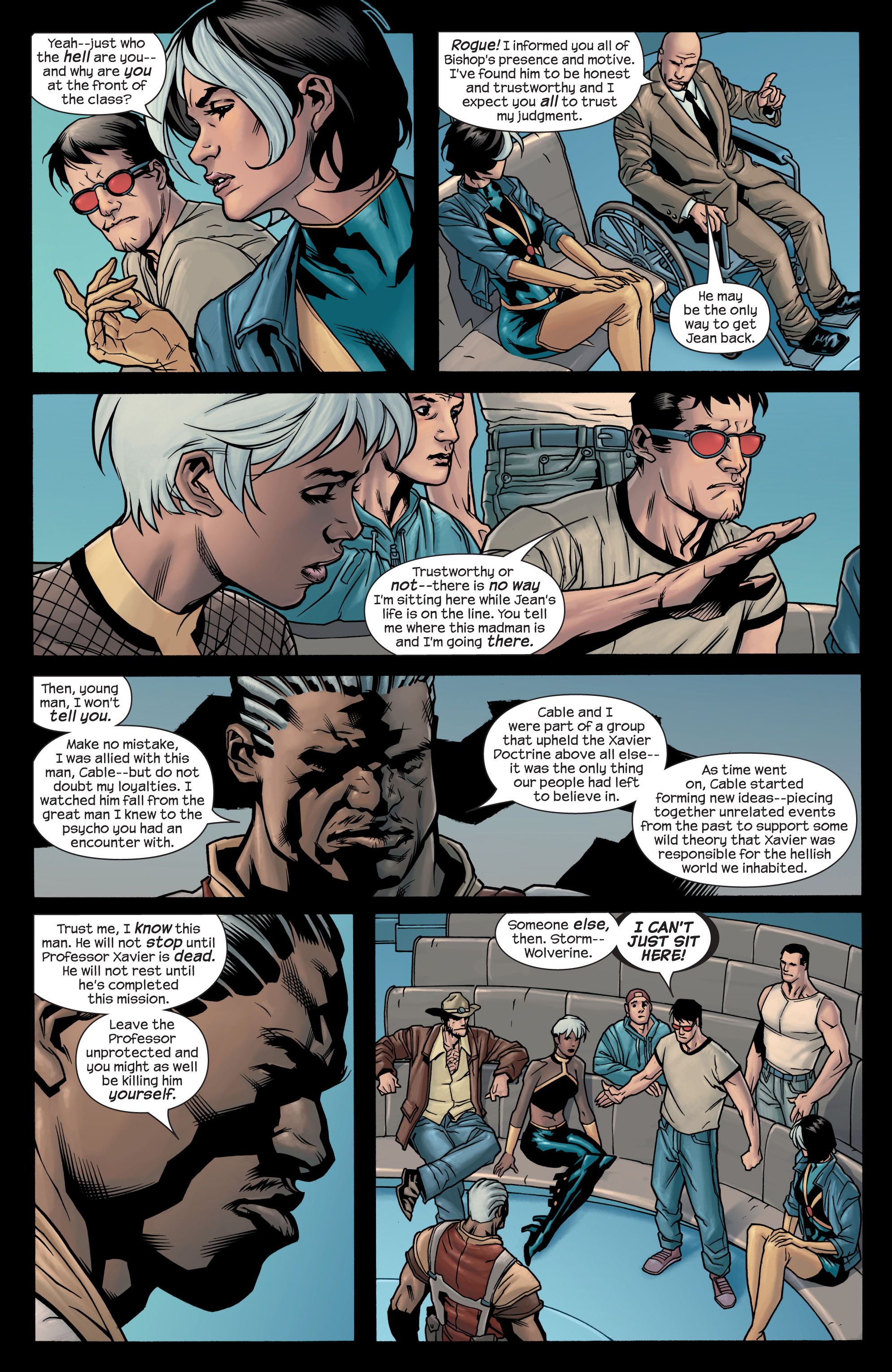 Read online Ultimate X-Men comic -  Issue #77 - 8