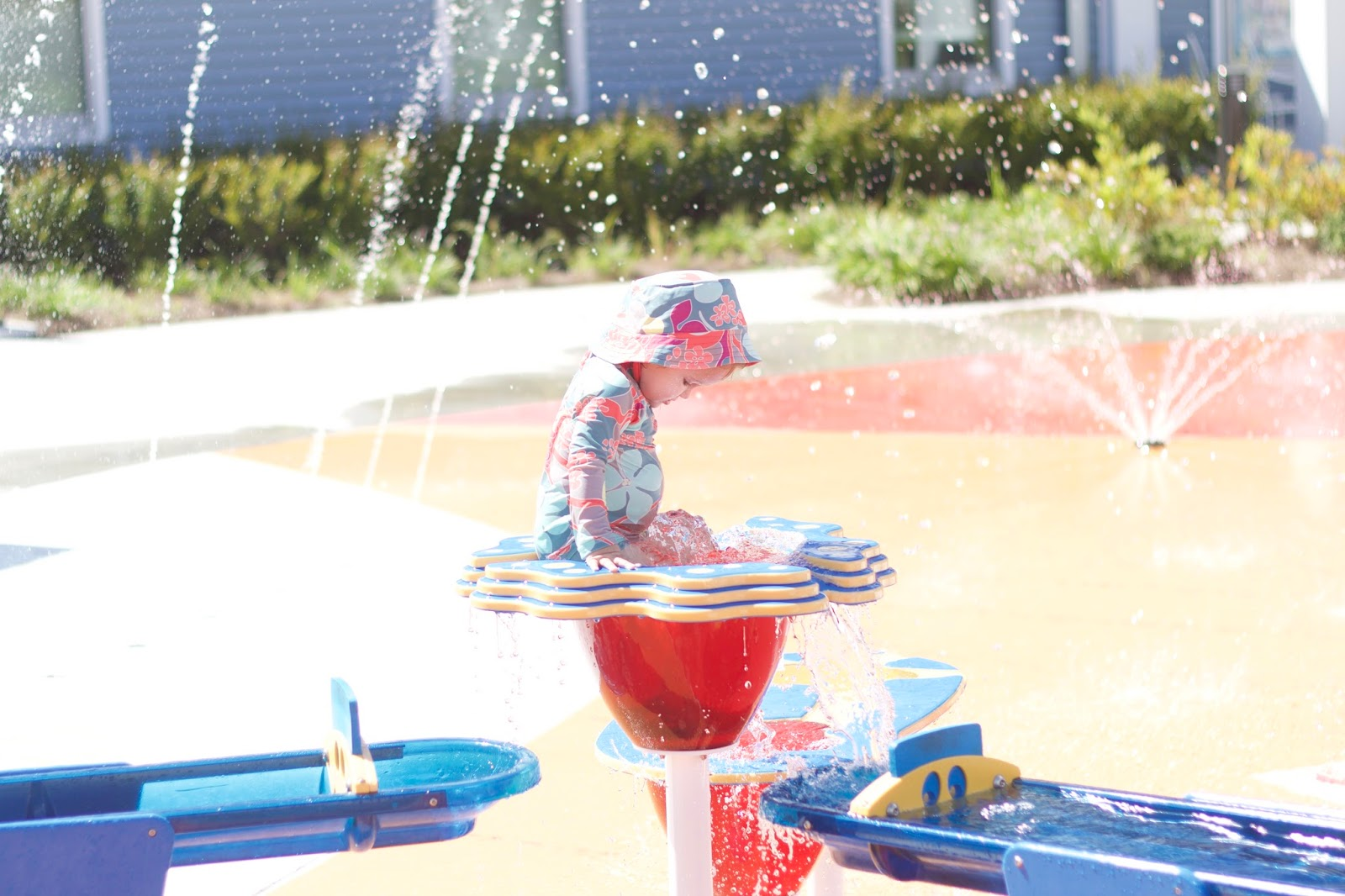 Caroline And I Ventured Out To The Midway Park Splash Pad On Camp Lejeune Recently M So Glad That We Did Two Times Have Been