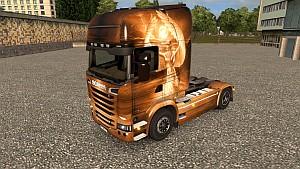 Swan Princess skin for Scania R