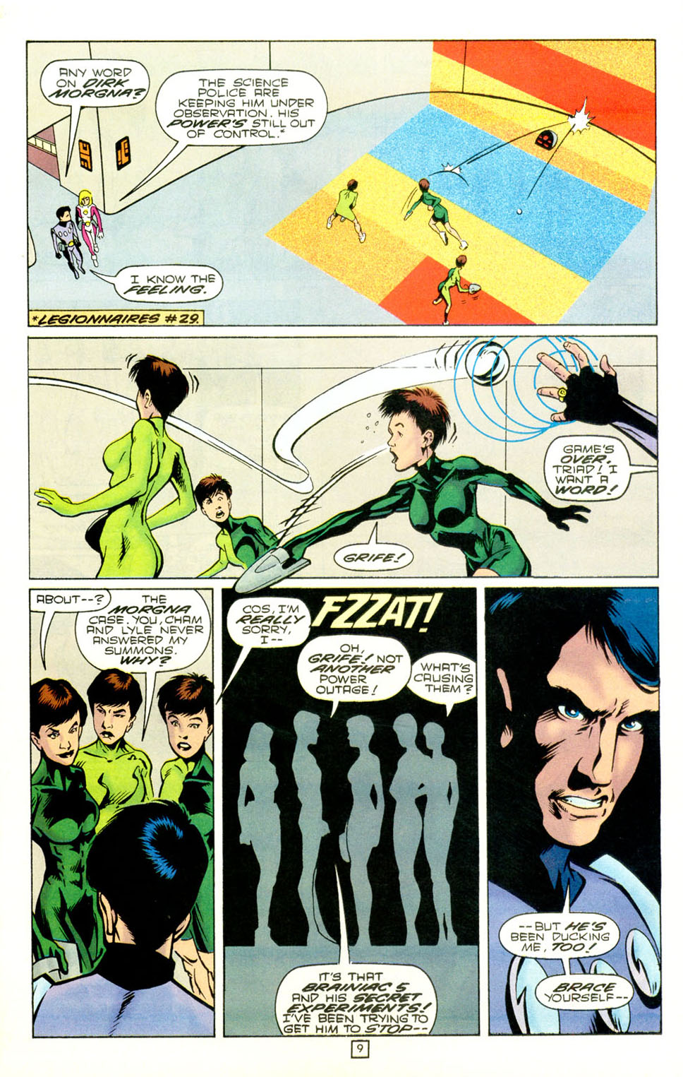 Legion of Super-Heroes (1989) 73 Page 9