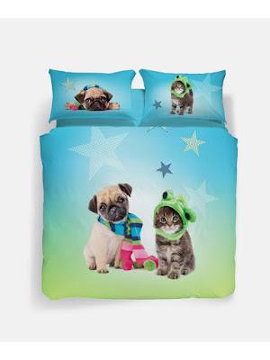 Star de Caleffi Studio Pets by Myrna. Conjunto Funda nórdica