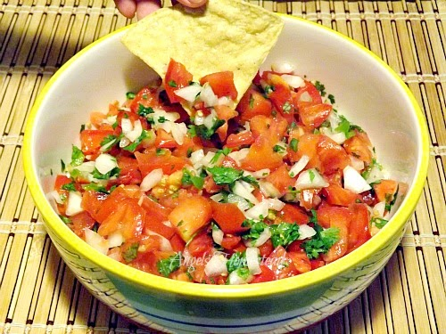 Home Sweet Homestead: Pico de Gallo and chips