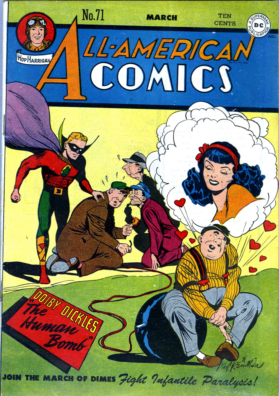 Read online All-American Comics (1939) comic -  Issue #71 - 1