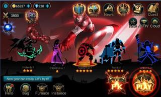 Hero Legend Stickman Pro v1.9.0 APK Unlimited Money Terbaru