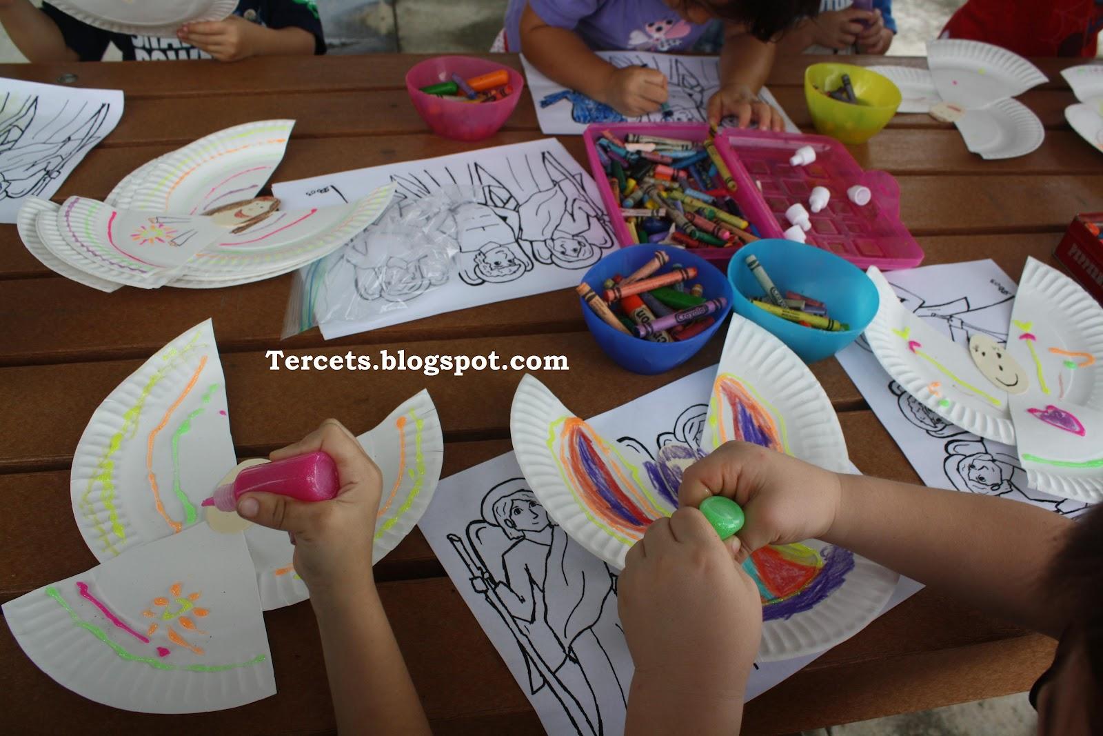 Annunciation Crafts For Preschoolers