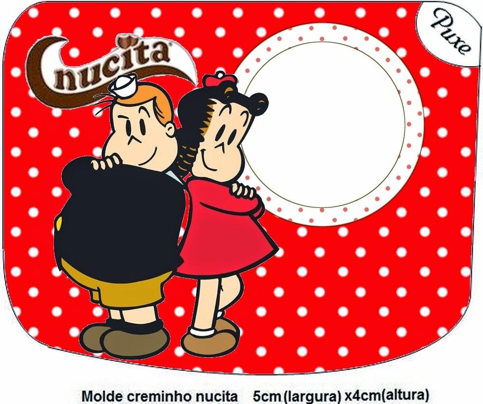 Etiqueta Nucita para Imprimir Gratis de La Pequeña Lulú.