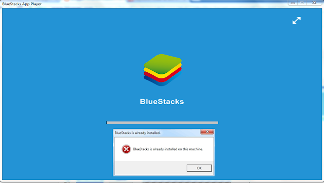 Bluestacks Already Installed Hata