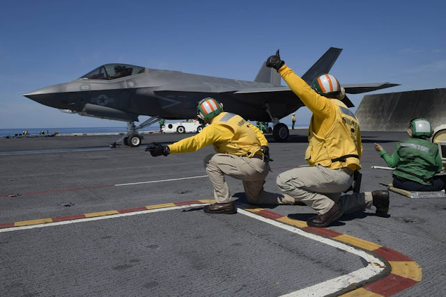 Navy F-35C Test Lincoln