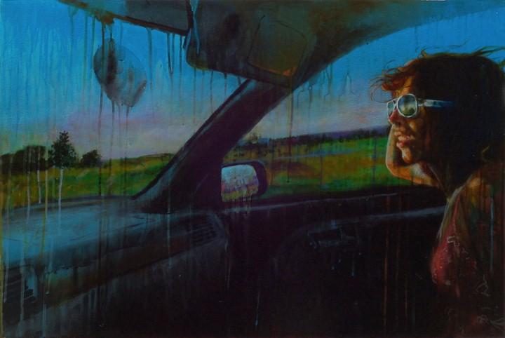 Thea Wolfe. Рисунки акварелью 14
