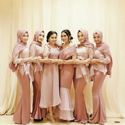 Inspirasi Kebaya Modern Hijab
